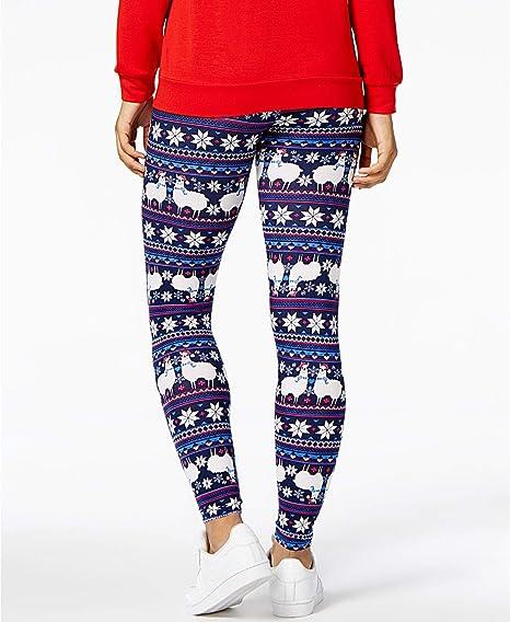 Women/'s Juniors Fleece Lined Super Soft Printed Leggings