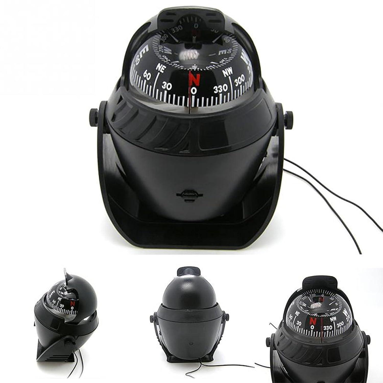 1セットLEDライト電子デジタルコンパスキーチェーン磁気球Marine Militaryボート車サバイバル緊急Life Tactical Mighty人気アウトドアキャンプホイッスルバックパックマップガイドツールキット B07B146963
