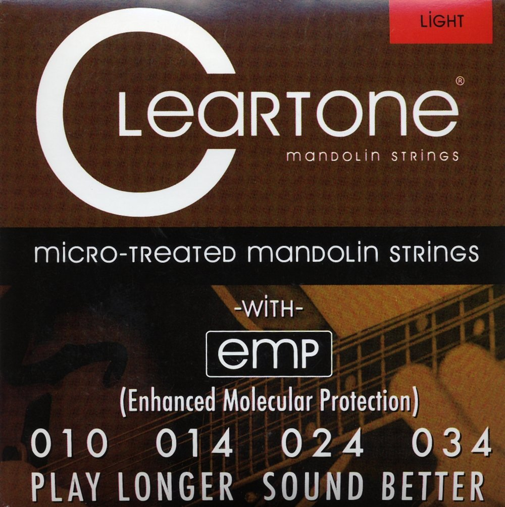 Cleartone Mandolin Phosphor Bronze Strings Light