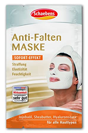 Schaebens Anti Falten Maske 10er Pack 10 X 10 Ml Amazonde Beauty