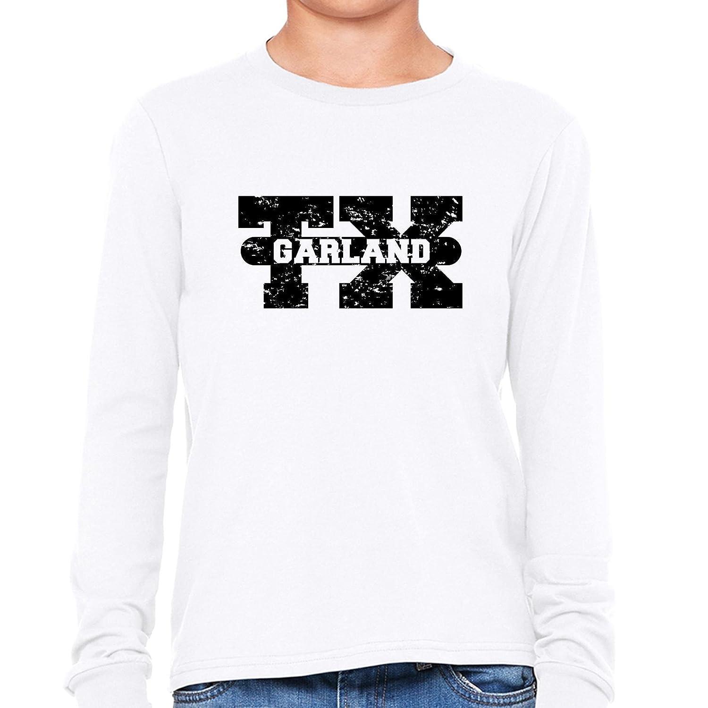 Amazon Garland Texas Tx Classic City State Sign Boys Long