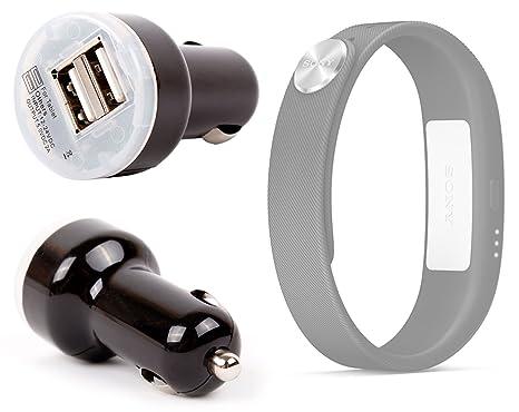 Chargeur allume-cigare pour montre connectée Polar Loop, Pebble, Sony SmartWatch et bracelet SmartBand SWR10: Amazon.fr: High-tech