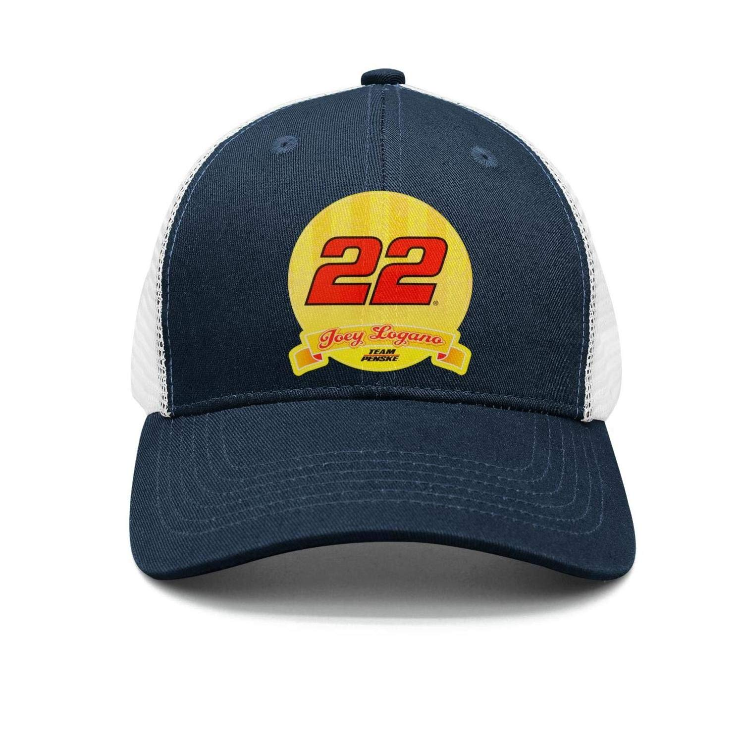 Mens Womens Joey-Logano-2018-Champion-#22-Driver Cap hat Snapback Stylish Travel