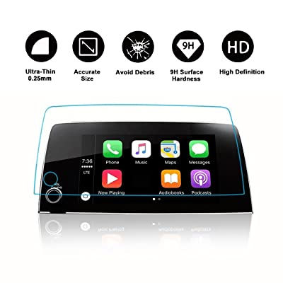 [Heat-Resistant] 2020 2020 2020 CRV Trapezoid Tempered Glass Protector for CRV Special 7-Inch in-Dash Center Navigation Screen Display Lx Ex Ex-l Touring (7-Inch): Car Electronics