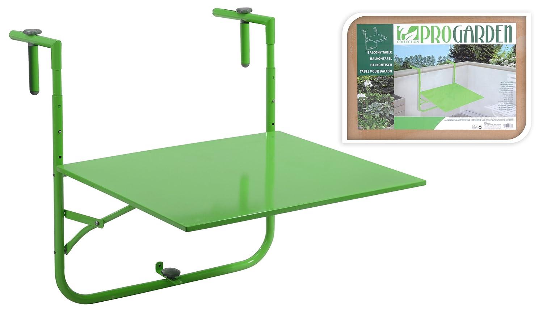 Folding Height Adjustable Hanging Balcony Table Lime Green Amazon