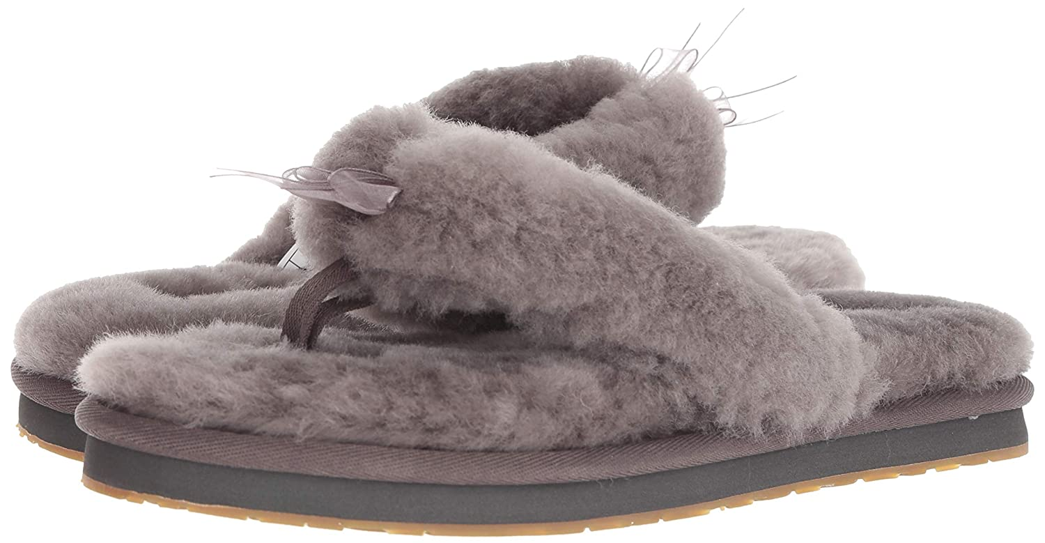 0cc8a6864 Amazon.com  UGG Women s W Fluff Flip Flop III Slipper  Shoes