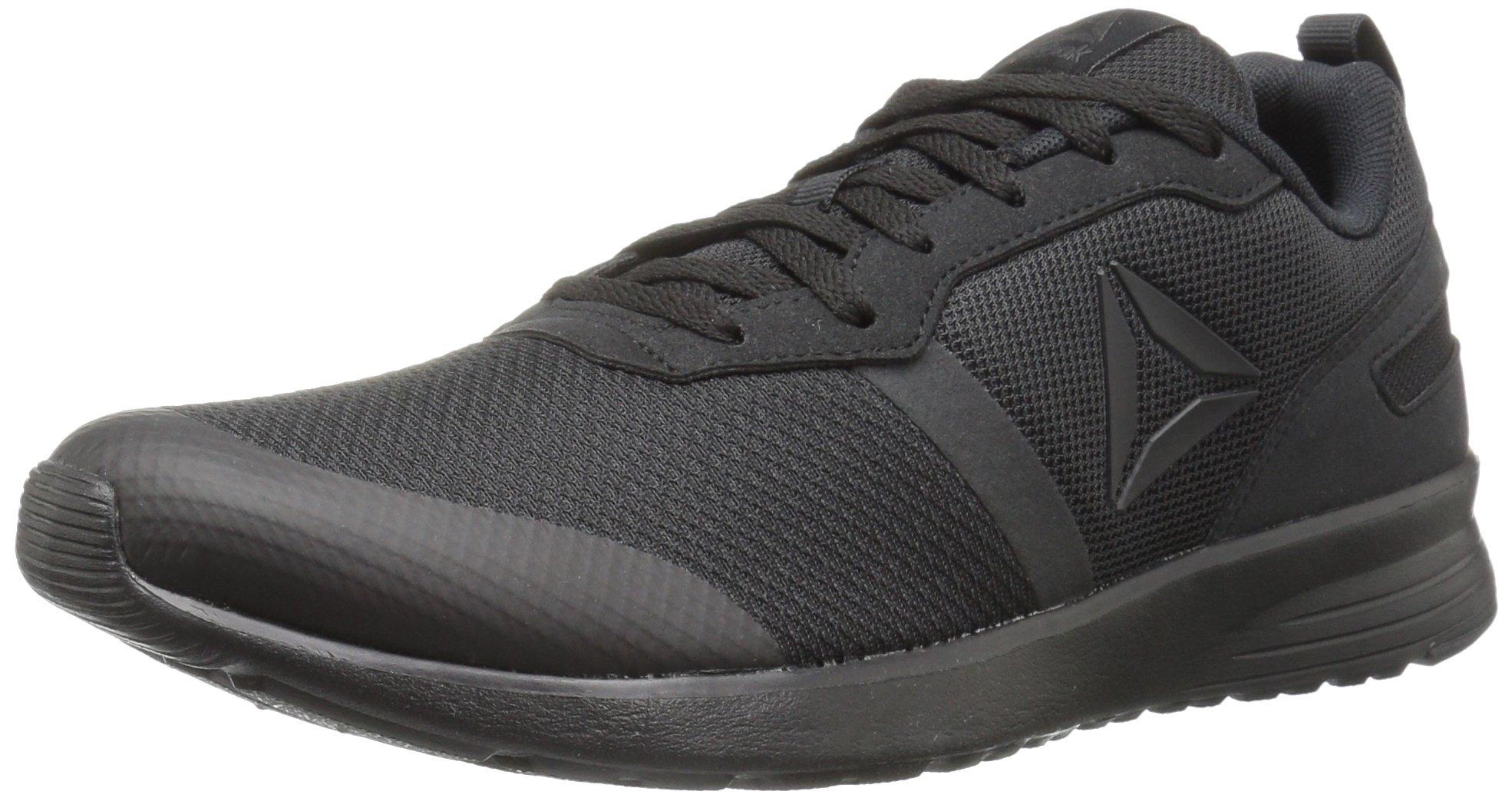 Reebok Women's Foster Flyer Track Shoe,black/coal,7.5 M US