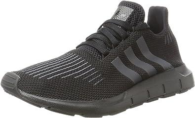 amplitud Empresario equilibrio  Amazon.com | Adidas Swift Run Boys Sneakers Black | Sneakers