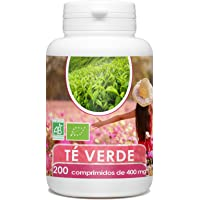 Te Verde Organica - 200 tabletas de 400