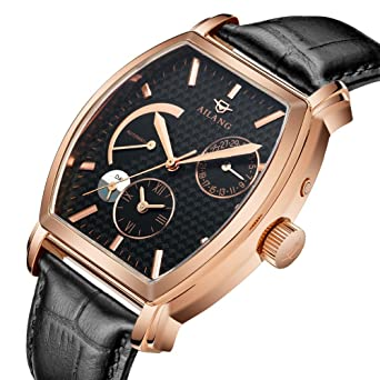Amazon Com Whatswatch Ailang Rose Gold Men S Luxury Watches Men S