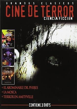 Pack Cine Terror C.Ficcion (3 Dvds): Amazon.es: Varios: Cine y Series TV
