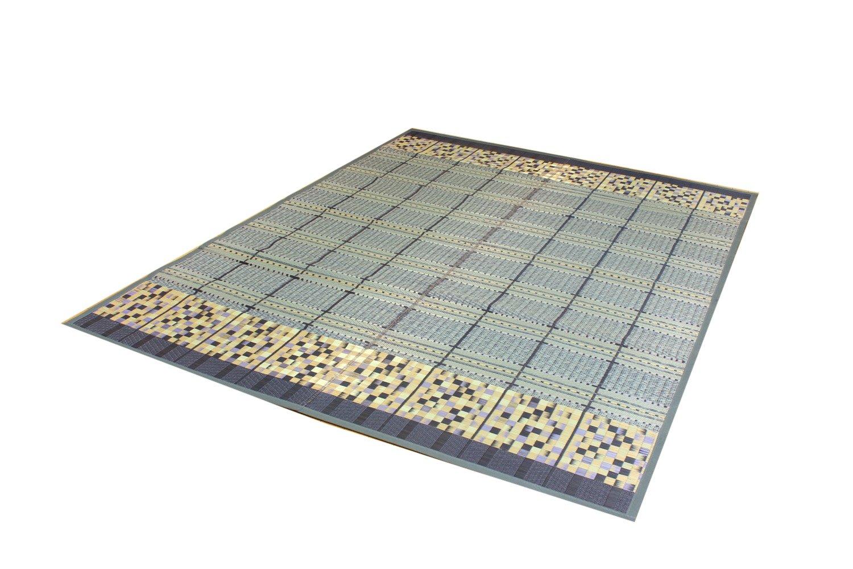 純国産 袋三重織 い草ラグカーペット 『スタイル』 グレー 約191×250cm B002CPICTM