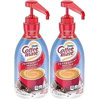 Nestle Coffee mate Coffee Creamer, Peppermint Mocha, Liquid Pump Bottle, 50.7 Ounces (Pack of 2)