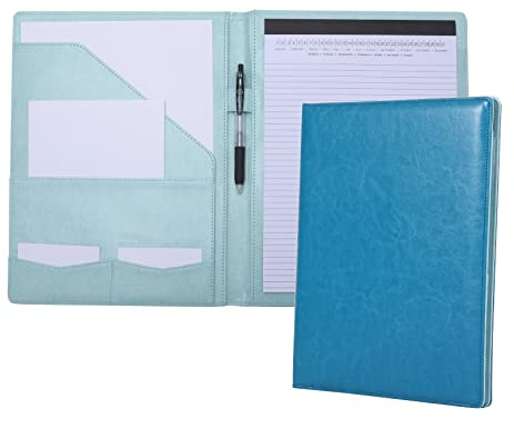 Amazoncom Portfolio Padfolio Resume Folder with Pocket Premium
