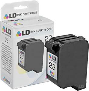 LD Remanufactured Ink Cartridge Replacement for HP 23 C1823D (Tri Color)