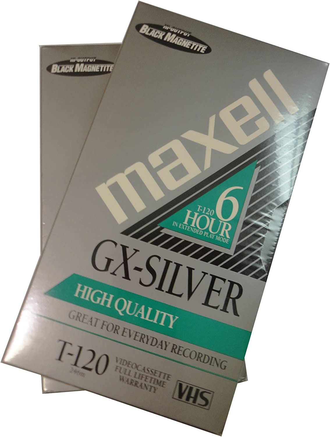 Maxell GX-Silver T-120 VHS 5 Pack