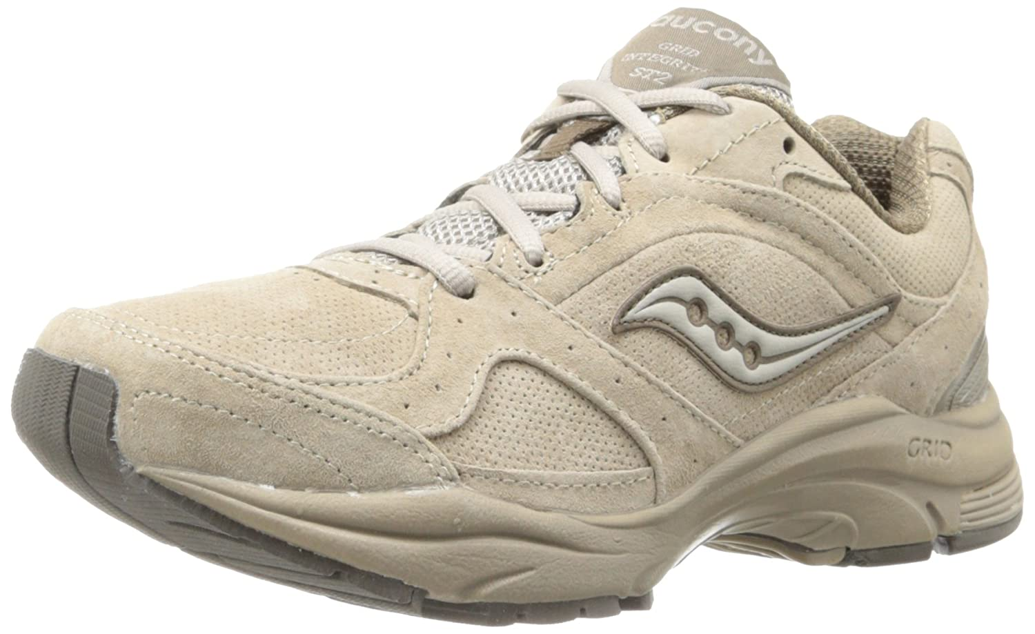 Saucony Women's ProGrid Integrity ST2 Walking Shoe B00CWBB65I 10.5 D US|Stone
