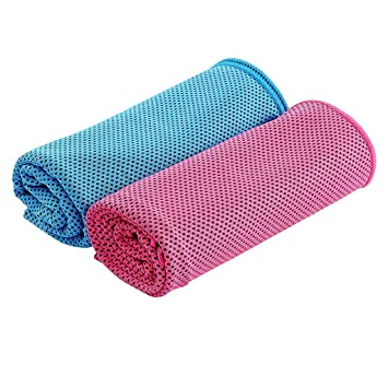 Amazon.com: 2pcs Cooling Towel Absorbent Cooling Towel for ...
