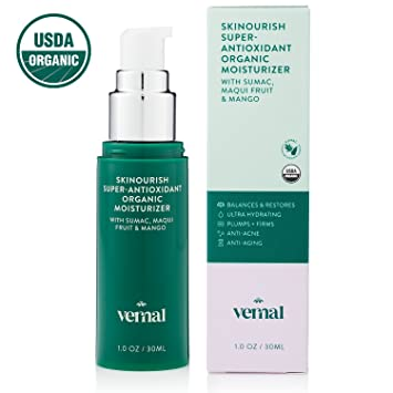 Amazon.com: Vernal Skinourish, Crema Orgánica Anti ...