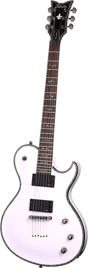 Schecter Hellraiser Solo-6 - Guitarra eléctrica, color blanco ...
