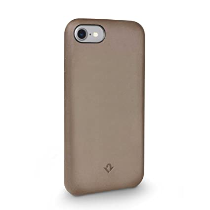 wholesale dealer e0369 09d1b Twelve South Relaxed Leather Case for iPhone 8/7/ 6 | Hand Burnished  Leather Shell (Warm Taupe)
