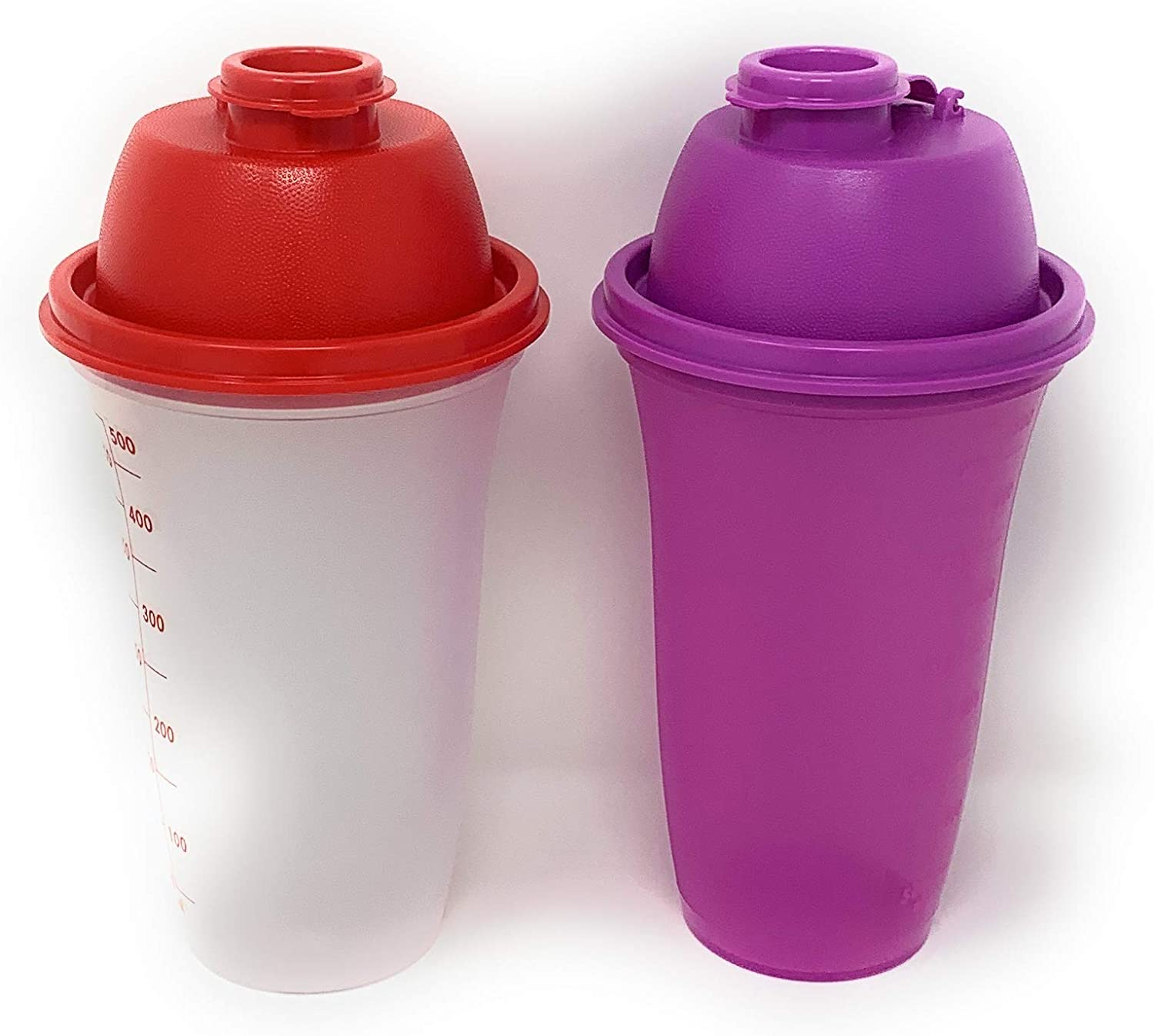 Tupperware Quick Shake Mixer Blender Set of 2