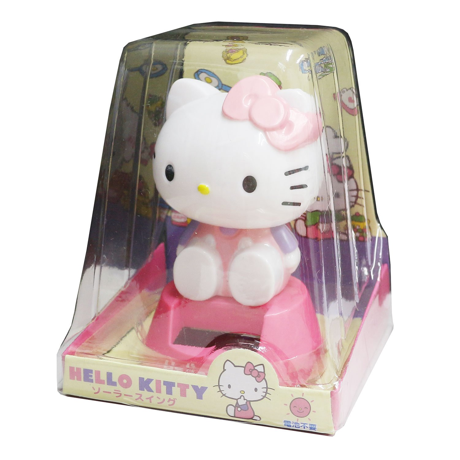 Other Anime Collectibles Hello Kitty Solar Swing Pink Ky 02
