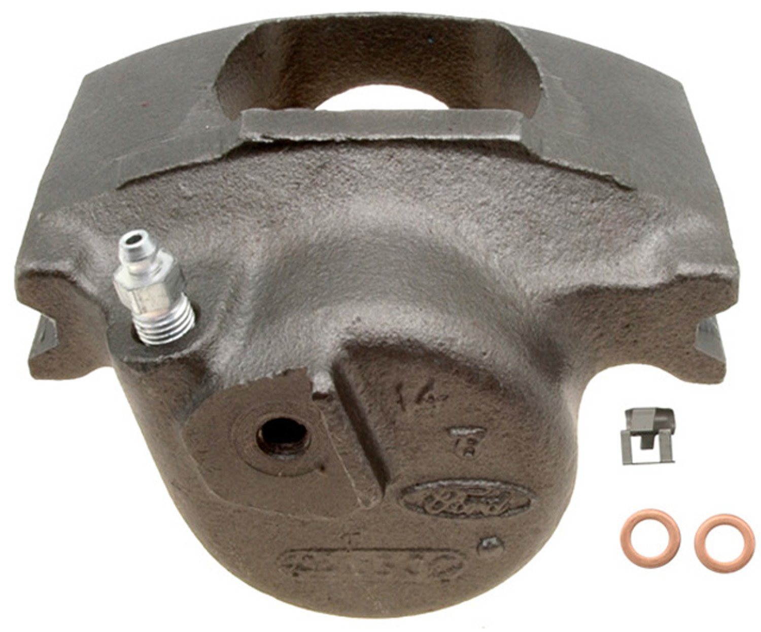 Friction Ready Non-Coated ACDelco 18FR663 Professional Front Passenger Side Disc Brake Caliper Assembly without Pads Remanufactured