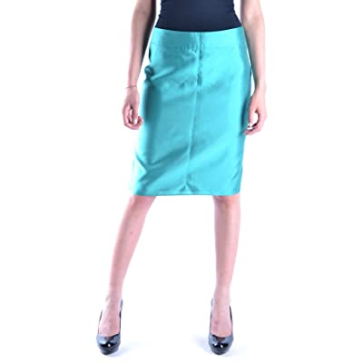 9a3d522089c9 Armani Collezioni Femme MCBI024076O Vert Coton Jupe