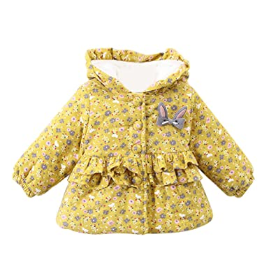 f3e320c2d646 Amazon.com  Outtop(TM) Baby Boys Girls Thicken Jacket Kids Cute ...