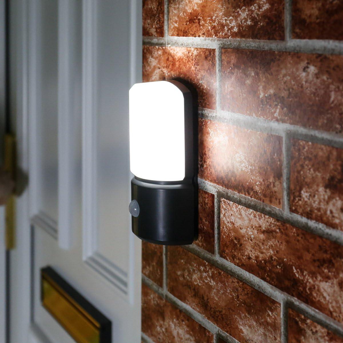 L/ámpara de exterior LED con detector de movimiento a pilas Waterproof