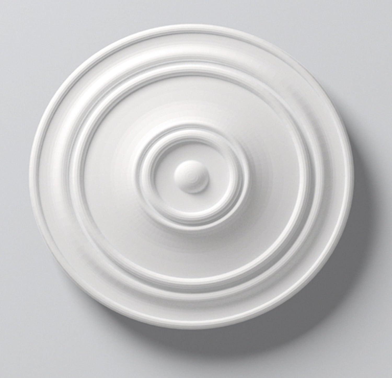 pansement Fabriqu/é /à la main au Royaume-Uni. Rose de plafond uni victorien 350 mm