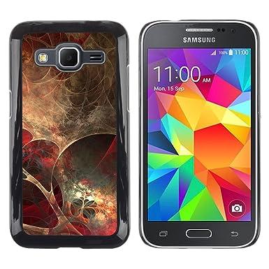 Koko CASE Samsung Galaxy Core Prime SM G360 Anatomy Spider Web Modern Art