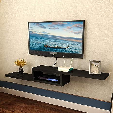 Televisor Montado en la Pared Gabinete Consola Multimedia ...