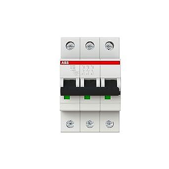 ABB S203-C32 - Instalación de fusible para caja de fusibles (32A): Amazon.es: Industria, empresas y ciencia