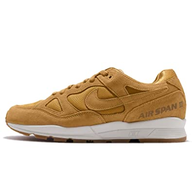 Amazon.com | Nike Men's Air Span II PRM, Wheat/Wheat-Light Bone | Shoes
