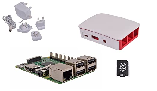 60 opinioni per Raspberry Pi 3 Official Desktop Starter Kit (16GB, White)