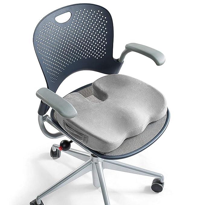 Cojín ortopédico para asiento de espuma con efecto memoria para ...