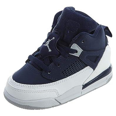 quality design 02c14 225f5 Nike Pre School Air Jordan Spizike BP Black Cement Black White Red (4