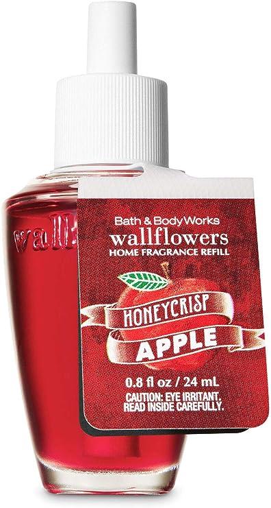 【Bath&Body Works/バス&ボディワークス】 ルームフレグランス 詰替えリフィル ハニークリスプアップル Wallflowers Home Fragrance Refill Honeycrisp Apple [並行輸入品]