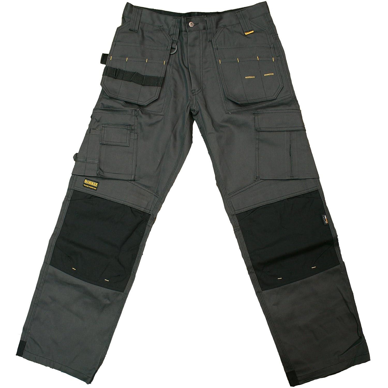 DeWalt Men's Polycotton Pro Tradesman Work Trouser - Black, 30W x 31L TRTI11A1596