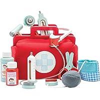 Le Toy Van - Çocuk Ahşap Eğitici Oyun Oynat Honeybake Doktor Tıbbi Oyun Seti Seti   Çocuklar Erkek ve Kız Çocukları İçin…