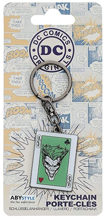 Amazon.com: AbyStyle abykey139 DC Comics The Joker Card ...
