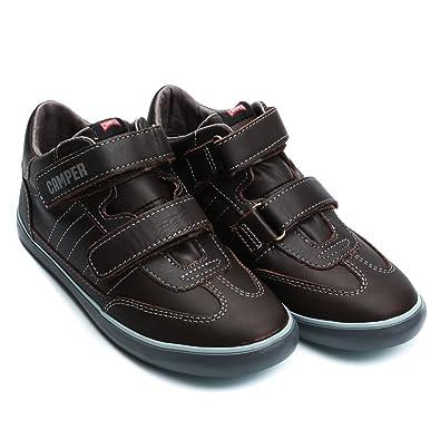 Camper Kids Pelotas Peril Vulca Sneaker 32 Brown: Camper Kids ...