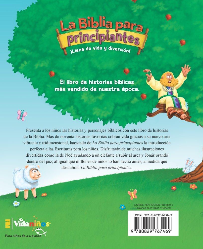 La Biblia para principiantes: Historias bíblicas para niños (The Beginner's Bible) (Spanish Edition) by HarperCollins Christian Pub.