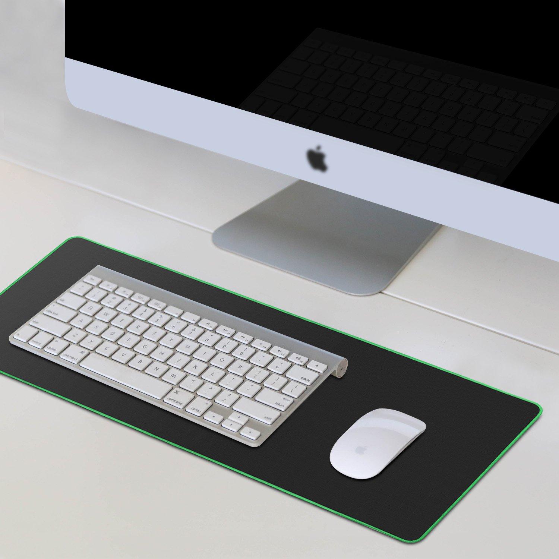 Gaming Mouse Pad Rosso Tappetino Mouse Gaming con Impermeabile Resistente all/'Acqua con Retro di Gomma Antiscivolo Superficie di Strutturato Speciale Supporto per PC Laptop 600 x 300 x 2 mm