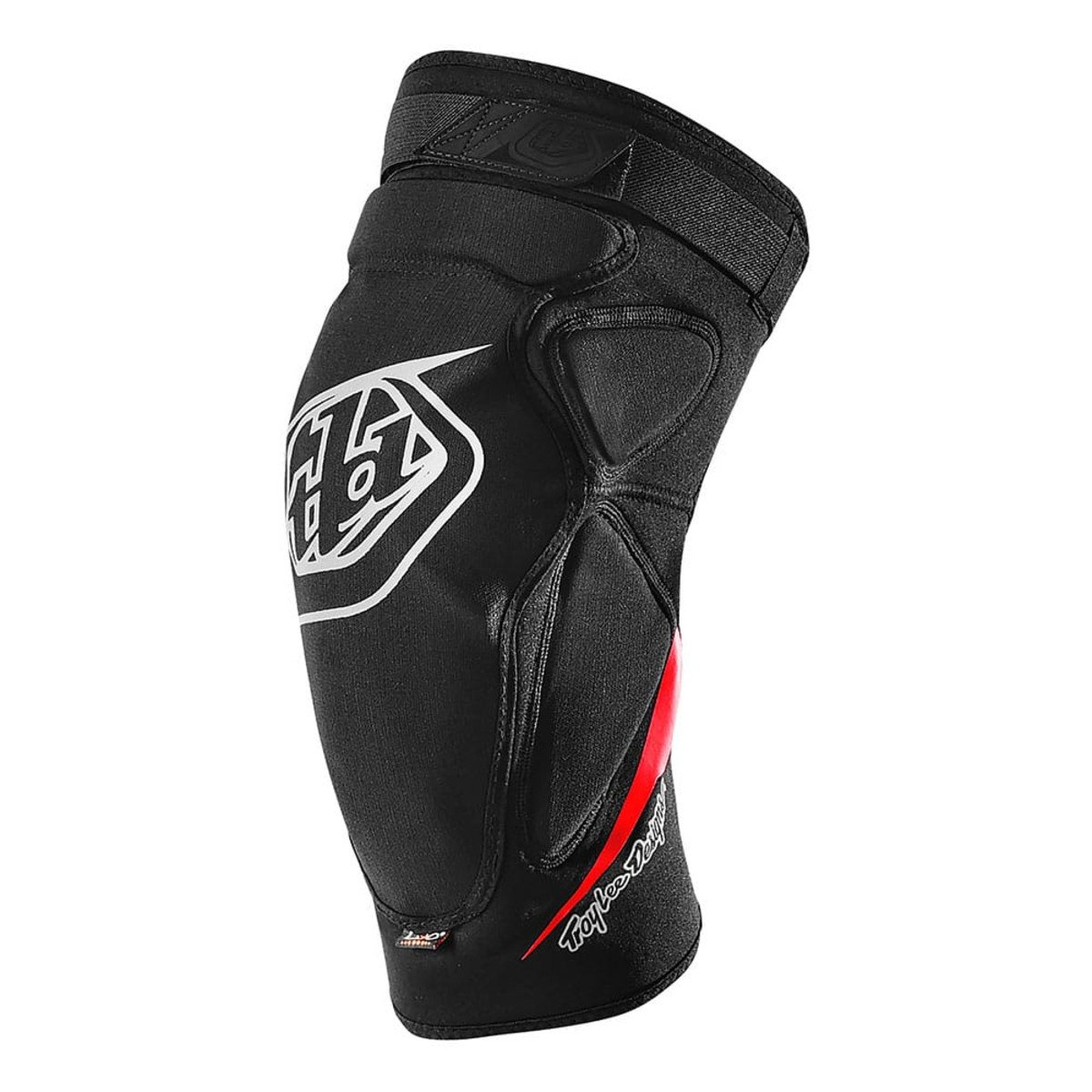 Troy Lee Designs Raid Knee Guard, Solid Black, XS-S