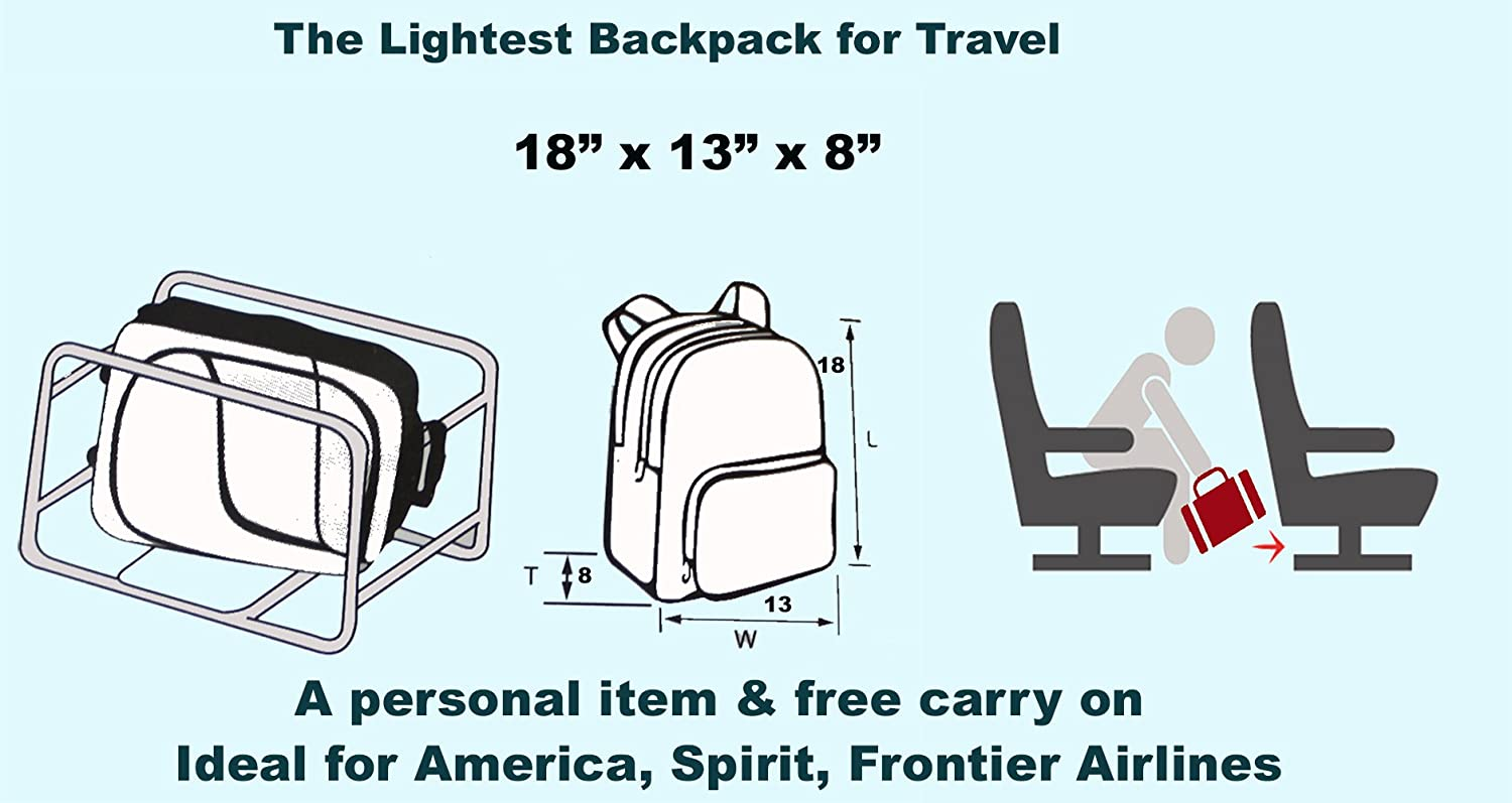 Frontier Airlines Personal Item Bag Size Tiga Backpack Site