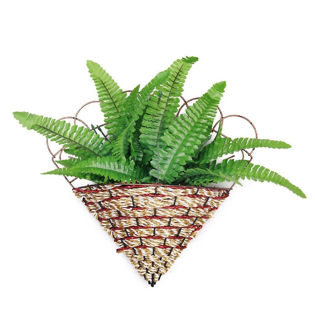 DierCosy 1 x Artificial Fern Grass Plastic Plant Home Table Arrangement Decor Green