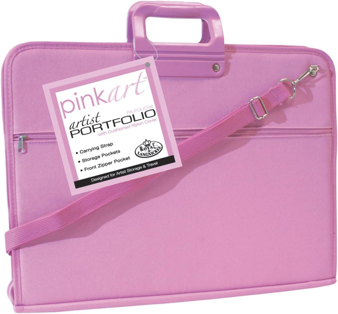 Royal /& Langnickel Pink Art Artist Portfolio Case